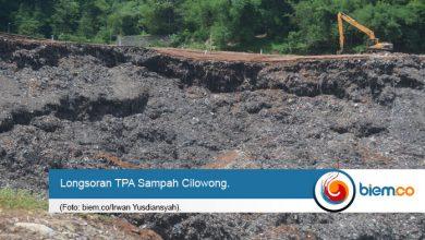 Photo of Tertimbun Longsor TPA Sampah Cilowong, Dua Warga Belum Ditemukan