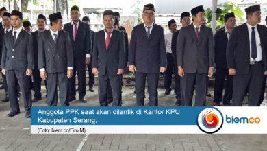 Photo of KPU Kabupaten Serang Lantik 58 Anggota PPK Tambahan
