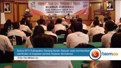 Photo of Usai Dikukuhkan, 55 Relawan Demokrasi Dibekali Bimtek