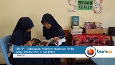 Photo of Peduli Literasi, Orang Tua di SMPN 1 Balikpapan Gencar Sumbang Buku