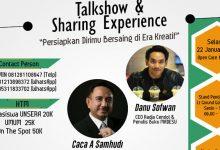 Photo of Public Relation Unsera Bakal Gelar Talkshow Kreatif Hadapi Dunia Kerja