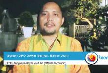 Photo of Caleg Eks Napi Korupsi Terbanyak di Banten, Sekjen DPD Partai Golkar: Masih Banyak Caleg yang Lain