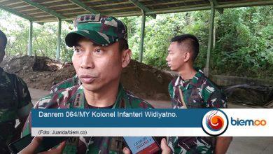 Danrem 064/MY Serang Kolonel Infanteri Widiyatno