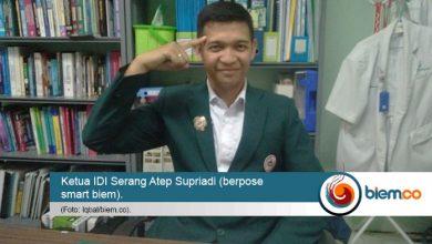 Ketua IDI Serang Atep Supriadi