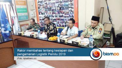 Photo of Rakor KPU Kota Serang Bahas Kesiapan dan Pengamanan Logistik Pemilu 2019