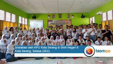 Photo of KPU Kota Serang Pastikan Kaum Milenial Cerdas Serta Berkualitas dalam Memilih