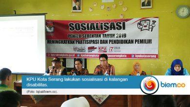 Sosialisasi disabilitas KPU