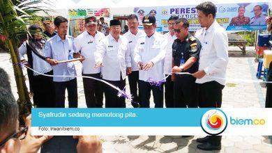 Photo of Walikota Serang Resmikan Kedai Pesisir Pantai Gopek
