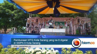 Photo of Gelaran MTQ Kota Serang ke-9 Resmi Dibuka