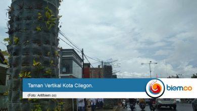 Photo of Taman Vertikal Percantik Kota Cilegon