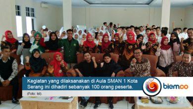 Photo of UNMA Banten dan SMAN 1 Kota Serang Gelar Seminar Kesehatan