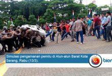 Photo of Mantapkan Kesiapan Jelang Pemilu, Polri Gelar Simulasi Pengamanan Pemilu