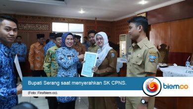 Photo of 370 CPNS Kabupaten Serang Terima SK