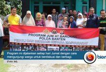 Jumat Barokah Polda Banten