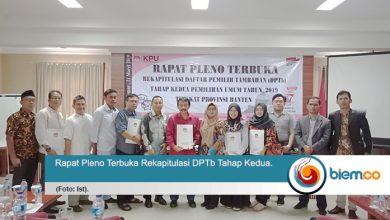 Photo of DPTb Pindahan di Provinsi Banten Sebanyak 40.035
