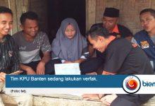 Tim KPU Banten lakukan Verfak