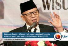 Photo of Wahidin Halim Ajak Lulusan Untirta Berkontribusi Nyata Terhadap Pembangunan Provinsi Banten