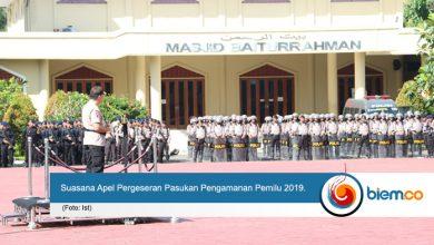 Apel Pergeseran Pasukan Pengamanan Pemilu 2019