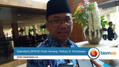 Sekretaris BPKAD Kota Serang, Wahyu B. Kristiawan