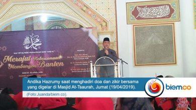 Photo of Andika Hazrumy Imbau Masyarakat Banten Jaga Kebersamaan Usai Pemilu