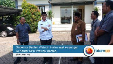 Photo of Gubernur Cek Kesiapan Pemilu di Banten