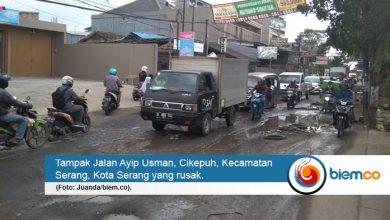 Photo of Banyak Memakan Korban, Jalan Ayip Usman Serang Belum Juga Diperbaiki