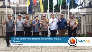 Photo of Kunjungi KPU Kota Serang, Kapolres Pastikan Kelancaran Pemilu