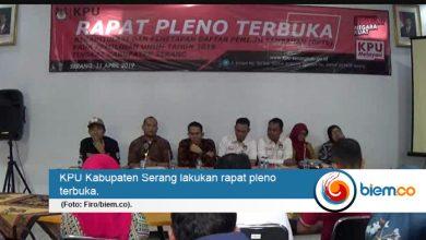 Photo of Pasca Putusan MK, KPU Kabupaten Serang Plenokan Daftar Pemilih Tambahan