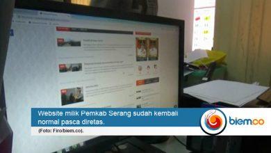 website pemkab serang