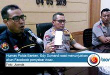 Photo of Polisi Buru Oknum Penyebar Hoaks Penganiayaan Kiai