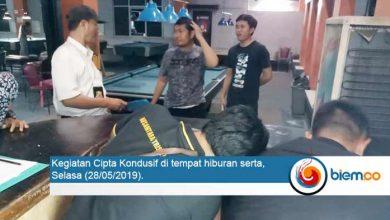 Photo of Jelang Lebaran, Polda Banten Lakukan Operasi Tempat Hiburan Billiard di Kota Serang