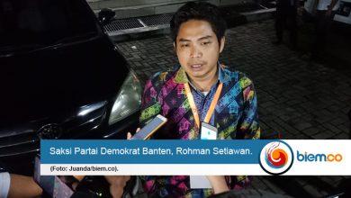 Saksi Partai Demokrat Banten, Rohman Setiawan
