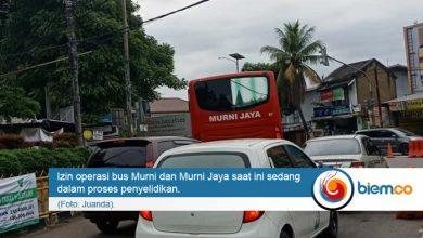 Photo of Izin Operasional Bus Murni dan Murni Jaya Tunggu Keputusan Menhub
