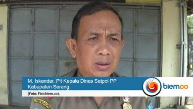 dinas satpol pp kabupaten serang
