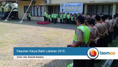 Photo of Kwarda Banten Terjunkan 750 Personel untuk Karya Bakti Lebaran 2019