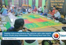 Photo of TBM Kobong Baca Insan Cita Adakan Santunan Yatim Piatu dan Dhuafa