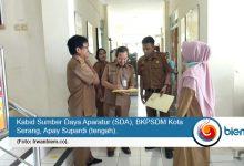 Kabid Sumber Daya Aparatur (SDA), BKPSDM Kota Serang, Apay Supardi