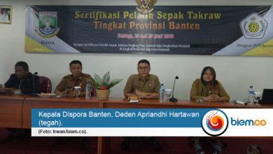 Kepala Dispora Banten, Deden Apriandhi Hartawan biemdotco