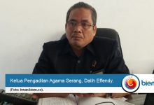 Dalih Effendy, Ketua Pengadilan biemdotco
