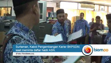 Photo of Sidak di Hari Pertama, 1 ASN Pemkab Serang Mangkir Kerja Tanpa Keterangan