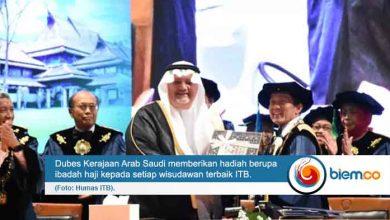 Photo of Wisudawan Terbaik ITB Dapat Hadiah Ibadah Haji dari Dubes Arab Saudi