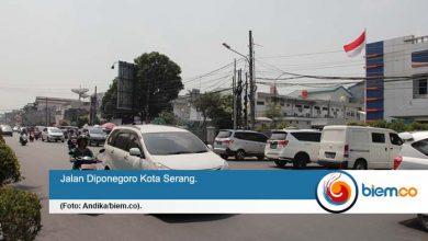 Jalan Diponegoro Kota Serang