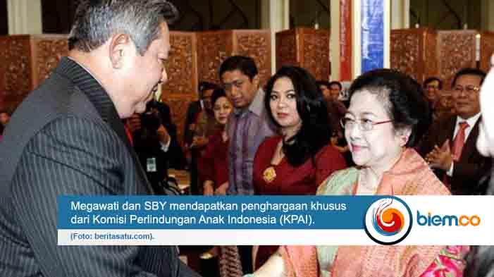 Megawati dan SBY