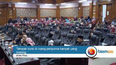 Banyak Anggota DPRD yang tak hadir