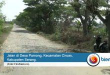 jalan poros desa kabupaten serang