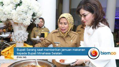 Photo of Bupati Minsel Christiany Kagumi Kuliner Asal Serang