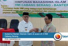 Photo of Gubernur Banten Hadiri LK 2 Nasional HMI Cabang Serang
