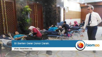 BI Banten Gelar Donor Darah