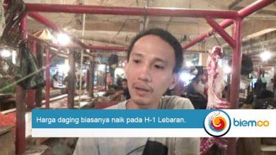 Jelang Idul Adha 2019 Harga Daging di Pasar Rau Relatif Normal