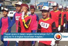 Photo of Gerak Jalan Kecamatan Kragilan Meriahkan HUT RI ke-74